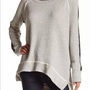 Free People Yo Yo Cowl Neck Sweater:Sweatshirt